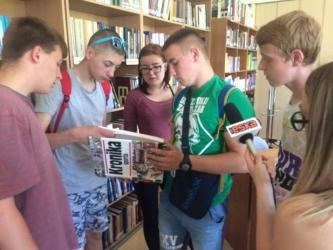 III klasy na obchodach Tygodnia Bibliotek