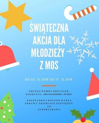 """""""Świąteczna Zbiórka dla Młodzieży z MOS"""" w firmie Telbridge"""
