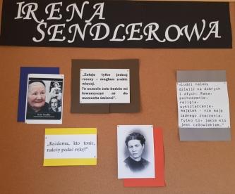 Konkurs wiedzy o Irenie Sendlerowej