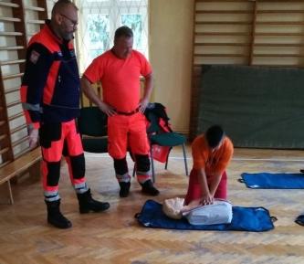 Warsztaty z pierwszej pomocy przedmedycznej