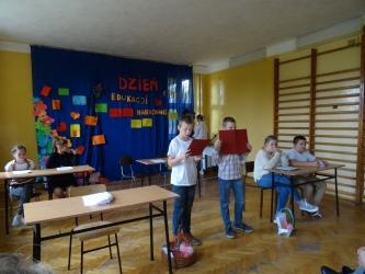 Dzień Edukacji Narodowej W Młodzieżowym Ośrodku Socjoterapii w Radomiu