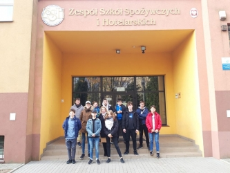 Wyjście do Zespołu Szkół Spożywczych  i Hotelarskich w Radomiu