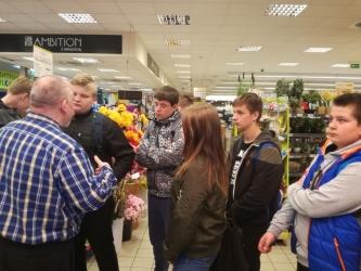 Wyjścia do supermarketu Piotr i Paweł w ramach realizacji innowacji