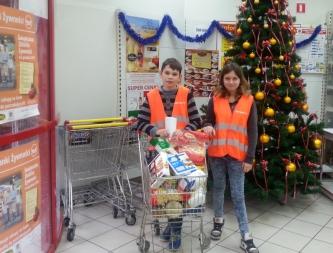 Grudniowa zbiórka żywności 2015